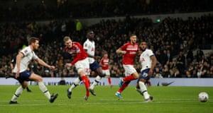 Saville gets one back for Middlesbrough.