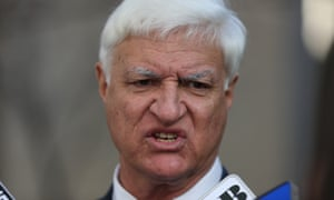 The member for Kennedy Bob Katter, whose son-in-law is the main importer of the Adler 110, which the Coalition has banned.