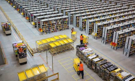 We are not robots': Amazon warehouse employees push to
