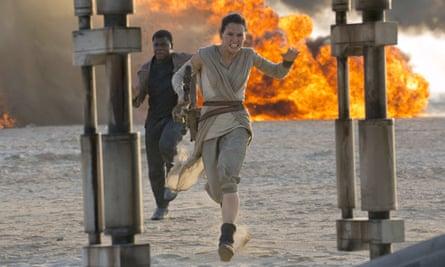 Daisy Ridley's Rey.