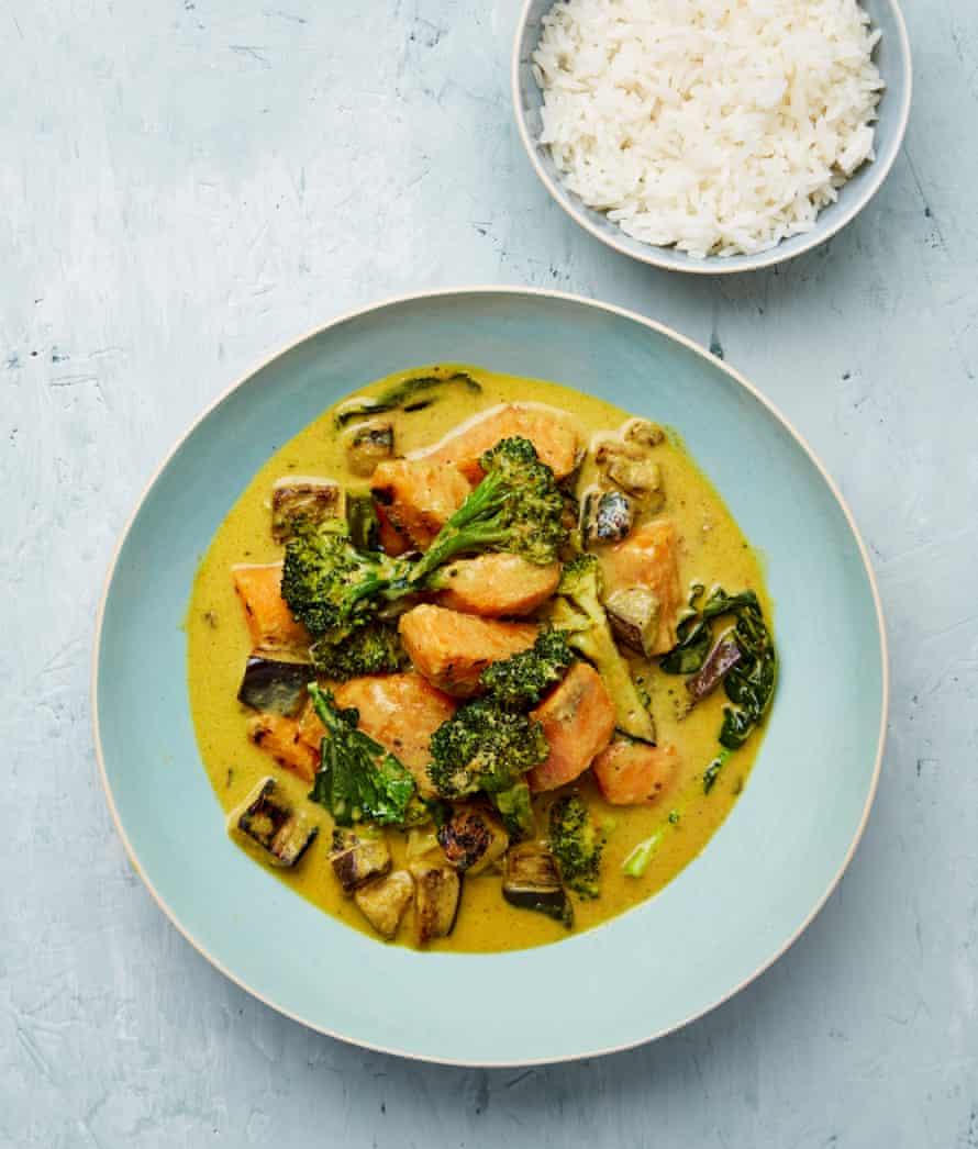 Meera Sodha's mixed vegetable Thai green curry.
