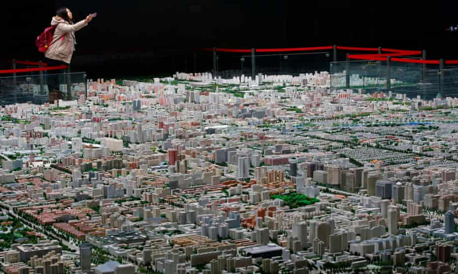 This scale model cannot keep up with the city's relentless pace of change – but makes clear the order that underlies the sprawl.