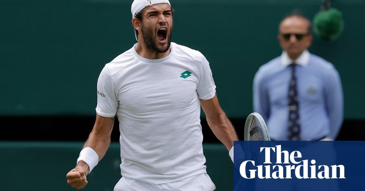 Matteo Berrettini beats Hurkacz and becomes first Italian in Wimbledon final