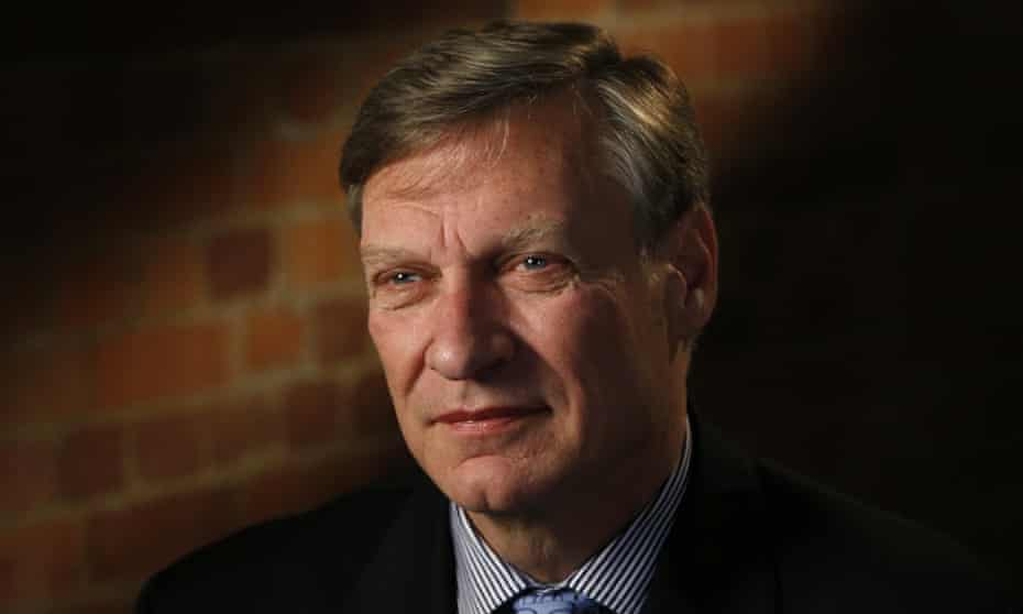 Ted Malloch in London on 9 February 2017.