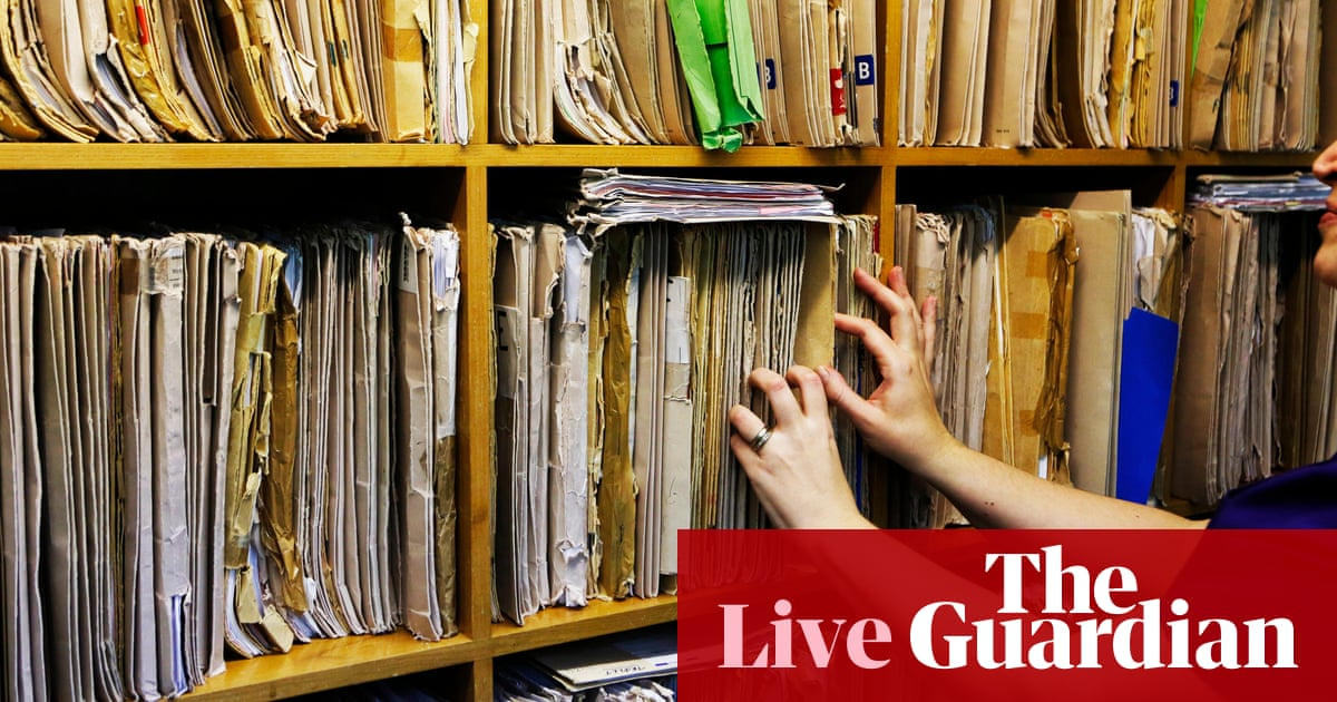 Jeremy Hunt Rejects Claims He Covered Up Loss Of 500000 Patient Documents As It Happened