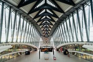 Lyon Saint Exupery airport Train station