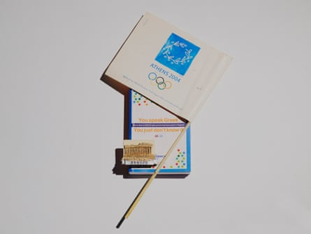 book and flag
