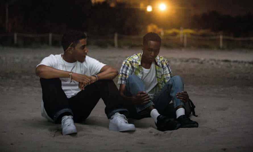 'It's a landmark film about the power of empathy and the importance of being loved' ... Jharrel Jerome and Ashton Sanders in Moonlight.