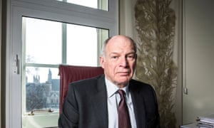 Lord Neuberger in an office