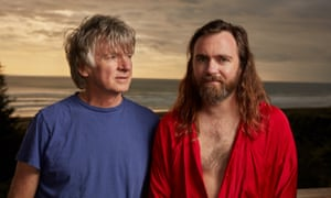 Both have a gift for focused pop … Neil and Liam Finn