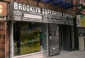 Kapow! ... Brooklyn Superhero Supply Store.