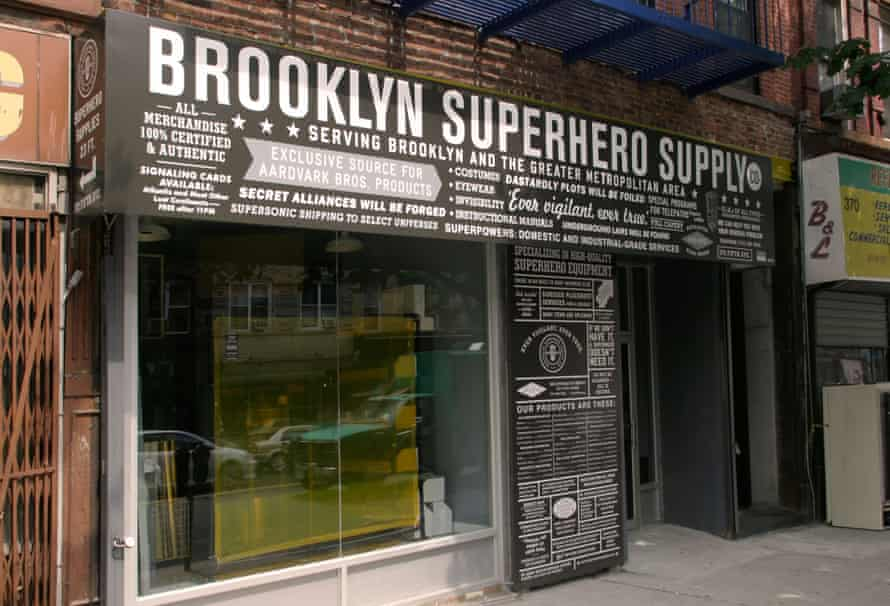 Kapow! ... Brooklyn Superhero Supply Store.