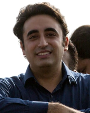 Bilawal Bhutto Zardari is the son of slain former prime minister Benazir Bhutto and the leader of the Pakistan People's Party.