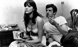 Anna Karina and Jean-Paul Belmondo in A Woman is a Woman, 1961