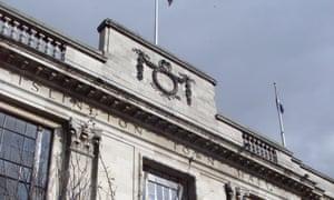 Islington Town Hall, Upper Street, north London.
