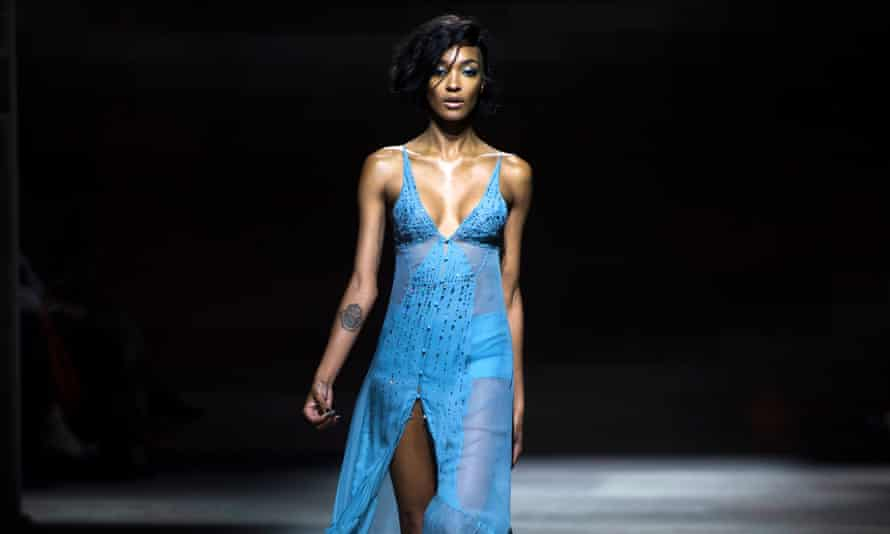 Jourdan Dunn, the only other black model to appear on the cover of Vogue alone, apart from Naomi Campbell, in Shulman's 25 years as editor.