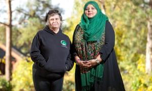 Shaista Aziz and Monica Gregory, who knew Sharron Maasz.