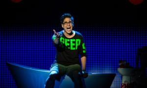 George Salazar singing Michael in the Bathroom.
