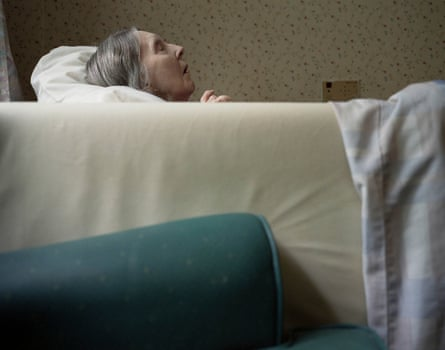 A transgressively powerful image of helplessness … Matthew Finn's portrait of his mother.