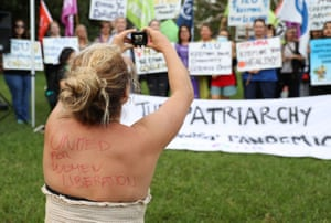 Australia. Thanks to a relaxation of Covid restrictions, an open-air rally was held in Sydney