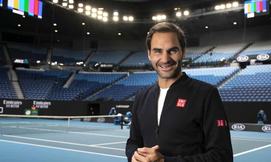 Roger Federer says he takes the 'threat of climate change very seriously'.
