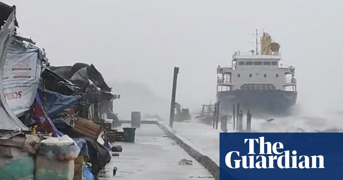 Strongest tropical cyclone ever recorded for April hits Pacific
