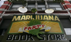'The glory days of the Marijuana party were from 2000 to 2003' ... the party bookshop in Vancouver.