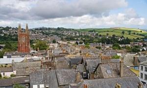 The town of Totnes, Devon, Great Britain, Europe