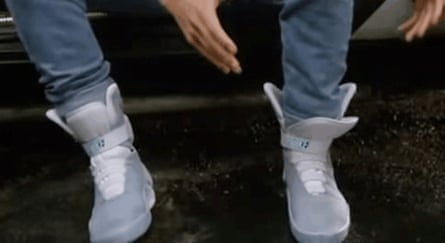 Marty mcFly's shoes from Back to the Future Part 2