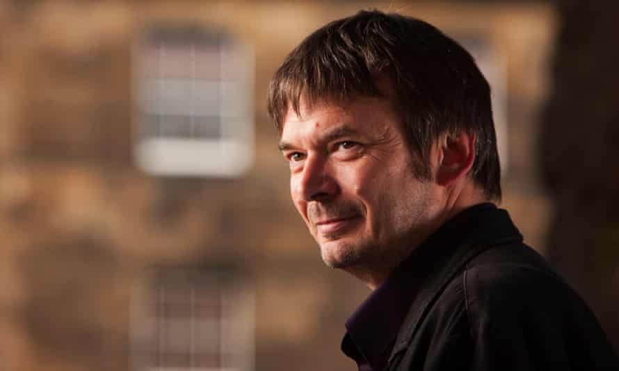 The author Ian Rankin