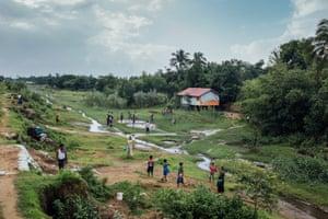 Rohingya village near Sittwe