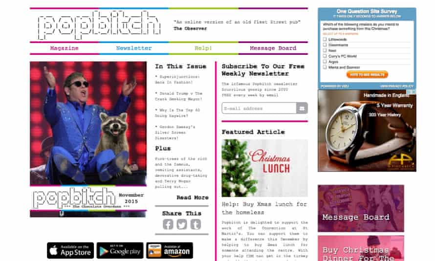 Popbitch is seeking to raise £20,000 from its readers
