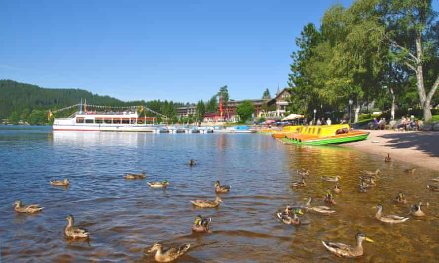 at Titisee in the Black Forest. =