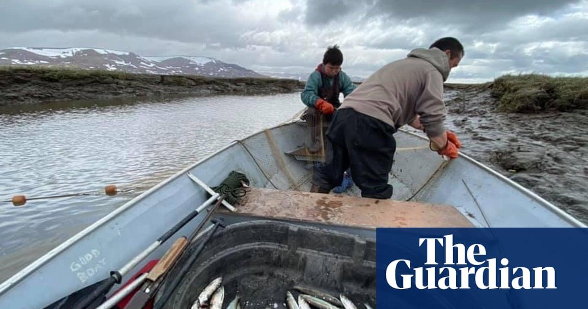 'It was sad having to leave': Climate crisis splits Alaskan town in half