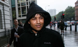 Navinder Singh Sarao, the alleged 'Flash Crash' trader, after a court hearing this year.