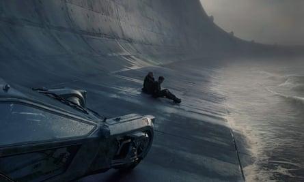 Rick Deckard (Harrison Ford) and Officer K (Ryan Gosling) in Blade Runner 2049