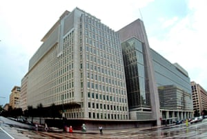The World Bank headquarters in Washington.