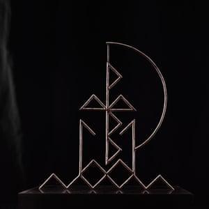 Pulled By Magnets: Rose Golden Doorways album art work.