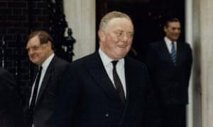 Sir Peter Morrison at Downing Street