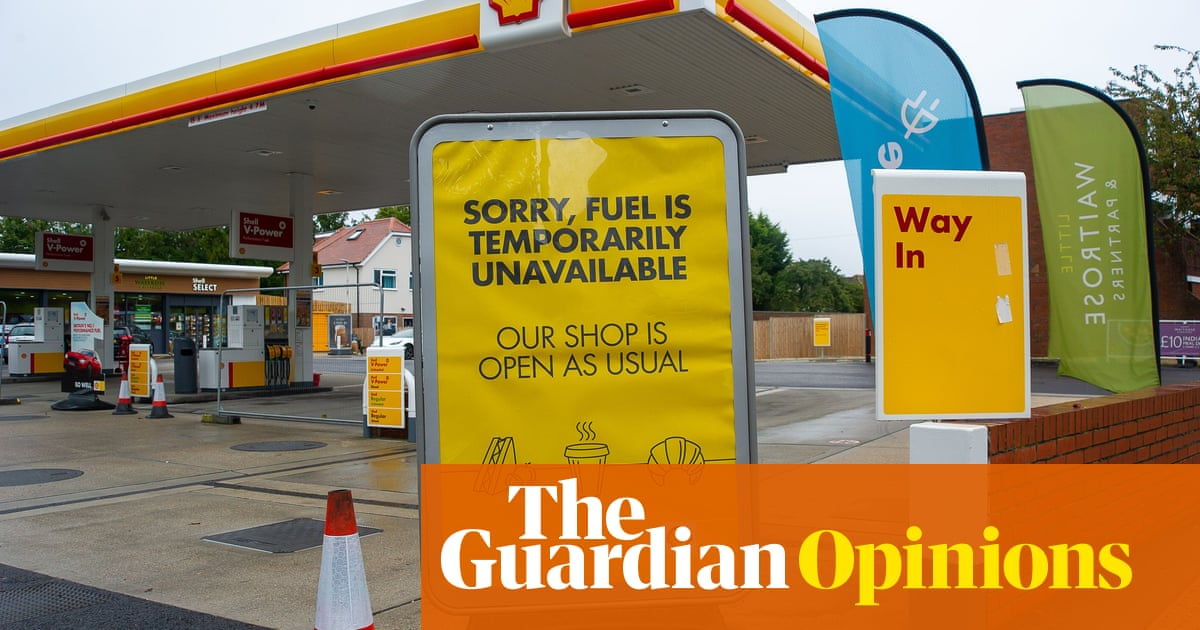Fuel crisis and supply shortages are a product of the UK's economic model