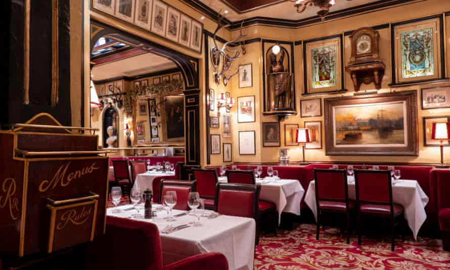 Following the rules: as London's oldest restaurant, Rules must be getting something right.