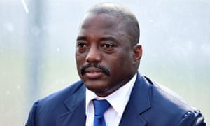 Joseph Kabila, in power since 2001 when he replaced his father