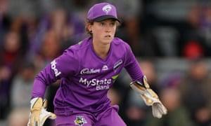 Hurricanes wicketkeeper Emily Smith