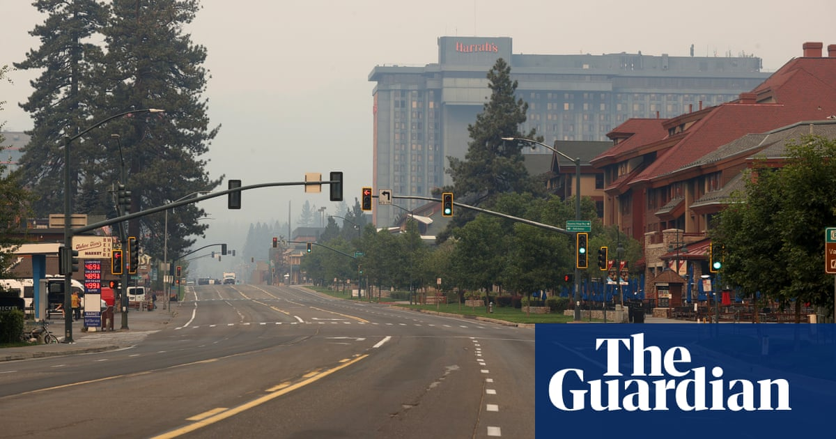 Empty campgrounds, burned ski lifts: will Lake Tahoe be a tourist destination once again?