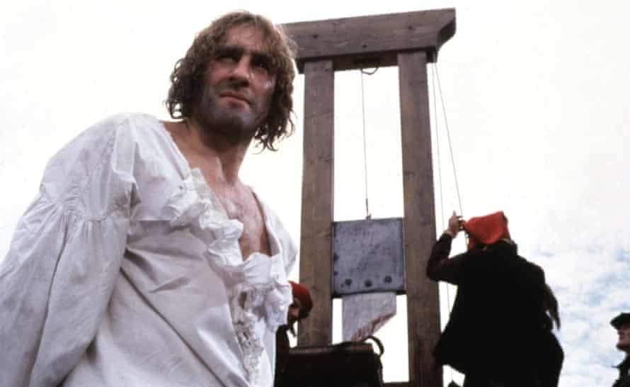 The guillotine, as used in the 1982 film Danton (see question 2:8). Photograph: Everett Collection/Alamy