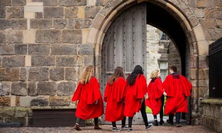 University of St Andrews students