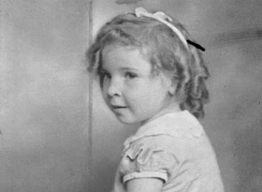 Portrait of four-year-old Marjorie West.