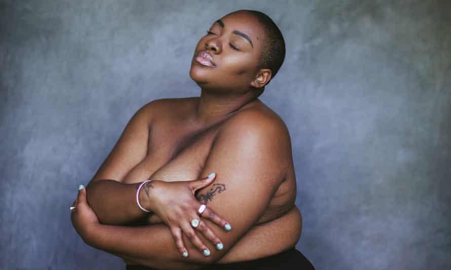 Portrait of plus-size model Nyome Nicholas-Williams by Alexandra Cameron