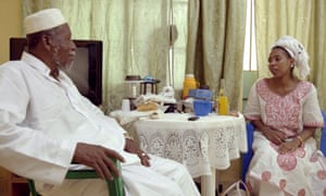 Jaha Dukureh with her father