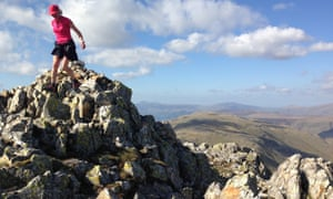 Nicky Spinks on Lake District fells
